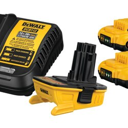 DEWALT - 20V MAX Battery Adapter Kit for 18V Tools - DCA2203C