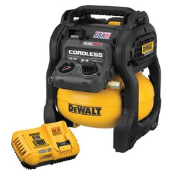 DEWALT - FLEXVOLT 60V MAX 25 Gallon Cordless Air Compressor Kit - DCC2560T1