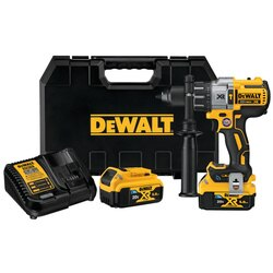 DEWALT - 20V MAX XR  Tool Connect Hammerdrill Kit w Tool Connect Batteries - DCD997P2BT