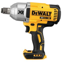DEWALT - 20v MAX XR High Torque 34 Impact Wrench w Hog Ring Retention Pin Anvil Bare - DCF897B