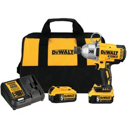 DEWALT - 20V MAX XR High Torque 716 Impact Wrench with Quick Release Chuck Kit 50Ah - DCF898P2