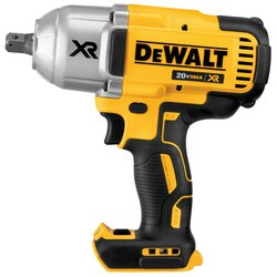 DEWALT - 20V MAX XR High Torque 12 Impact Wrench w Detent Pin Anvil Bare - DCF899B
