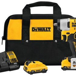 DEWALT - XTREME 12V MAX Brushless 38 in Cordless Impact Wrench Kit - DCF902F2