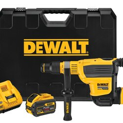 DEWALT - 60V MAX 134 in Brushless Cordless SDS MAX Combination Rotary Hammer Kit - DCH614X2