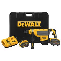 DEWALT - 60V MAX 178 in Brushless Cordless SDS MAX Combination Rotary Hammer Kit - DCH733X2