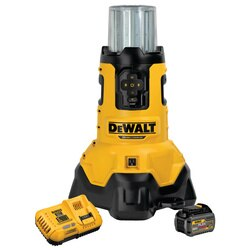 DEWALT - 20V MAX TOOL CONNECT CordedCordless LED Area Light Kit - DCL070T1