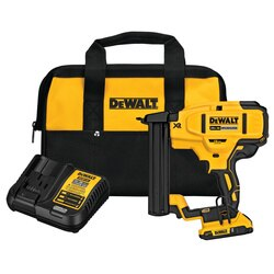 DEWALT - 20V MAX XR 18 GA Cordless Narrow Crown Stapler Kit - DCN681D1