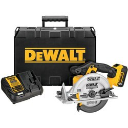 DEWALT - 20V MAX Lithium Ion Circular Saw Kit - DCS391P1