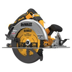 DEWALT - 20V MAX 714 in Brushless Cordless Circular Saw with FLEXVOLT Advantage Tool Only - DCS573B