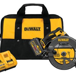 DEWALT - FLEXVOLT 60V MAX 714 in 184  mm CIRCULAR SAW wBrake Kit - DCS575T1