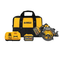 DEWALT - FLEXVOLT 60V MAX Brushless  714 in Cordless Circular Saw with Brake Kit - DCS578X2