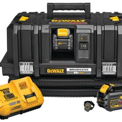 DEWALT - 60V MAX FLEXVOLT Cordless Dust Extractor Kit - DCV585T2