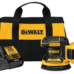 DEWALT - 20V MAX XR 5 in Cordless Random Orbital Sander Kit 50Ah Battery - DCW210P1
