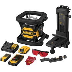 DEWALT - 20V MAX Tool Connect Red Tough Rotary Laser Level - DW080LRS
