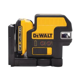 DEWALT - 12V MAX Compatible 2 Spot  Cross Line Red Laser - DW0822LR