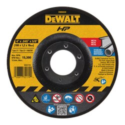 DEWALT - 4 x 045 x 58 Metal Cutting Wheel - DW8420