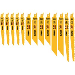 DEWALT - 13PC Reciprocating Saw Blade Set - DWAFV413SET