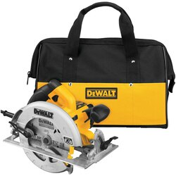 DEWALT - 714 in Lightweight Circular Saw - DWE575SB