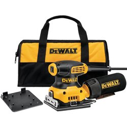 DEWALT - 14 Sheet Palm Grip Sander Kit - DWE6411K