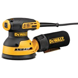 DEWALT - 5 in Variable Speed Random Orbit Sander Kit  HL Pad - DWE6423K