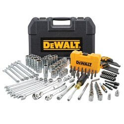 DEWALT - 142 pc  in  38 in Drive Mechanics Tool Set - DWMT73802