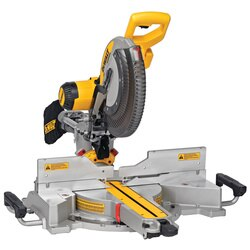 DEWALT - 12 in Double Bevel Sliding Compound Miter Saw - DWS780