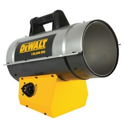 DEWALT - 125000 BTUHR Forced Air Propane Heater - DXH125FAV