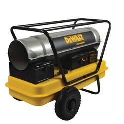DEWALT - 135000 BTUHR Forced Air Kerosene Heater - DXH135HD
