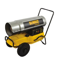 DEWALT - 135000 BTUHR Forced Air Kerosene Construction Heater - DXH135KT