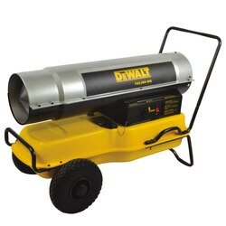 DEWALT - 185000 BTUHR Forced Air Kerosene Construction Heater - DXH185KT