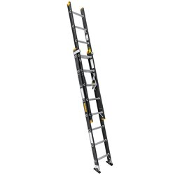 DEWALT - 16ft Fiberglass 225lb Type II Extension Ladder - DXL3220-16