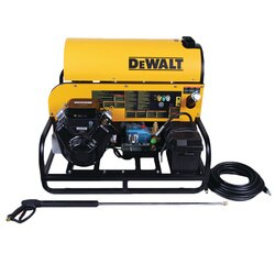 DEWALT - 3600 PSI  50 GPM VANGUARD VTwin with CAT Triplex Plunger Pump Hot Water Professional Gas Pressure Washer - DXPWH3650