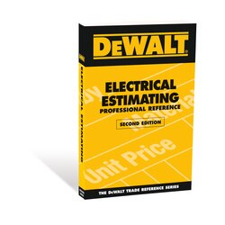 DEWALT - Electrical Estimating Professional Reference Second Edition - DXRG53036