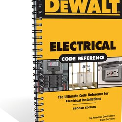 DEWALT - Electrical Code Reference Based on the 2011 National Electrical Code - DXRG57548