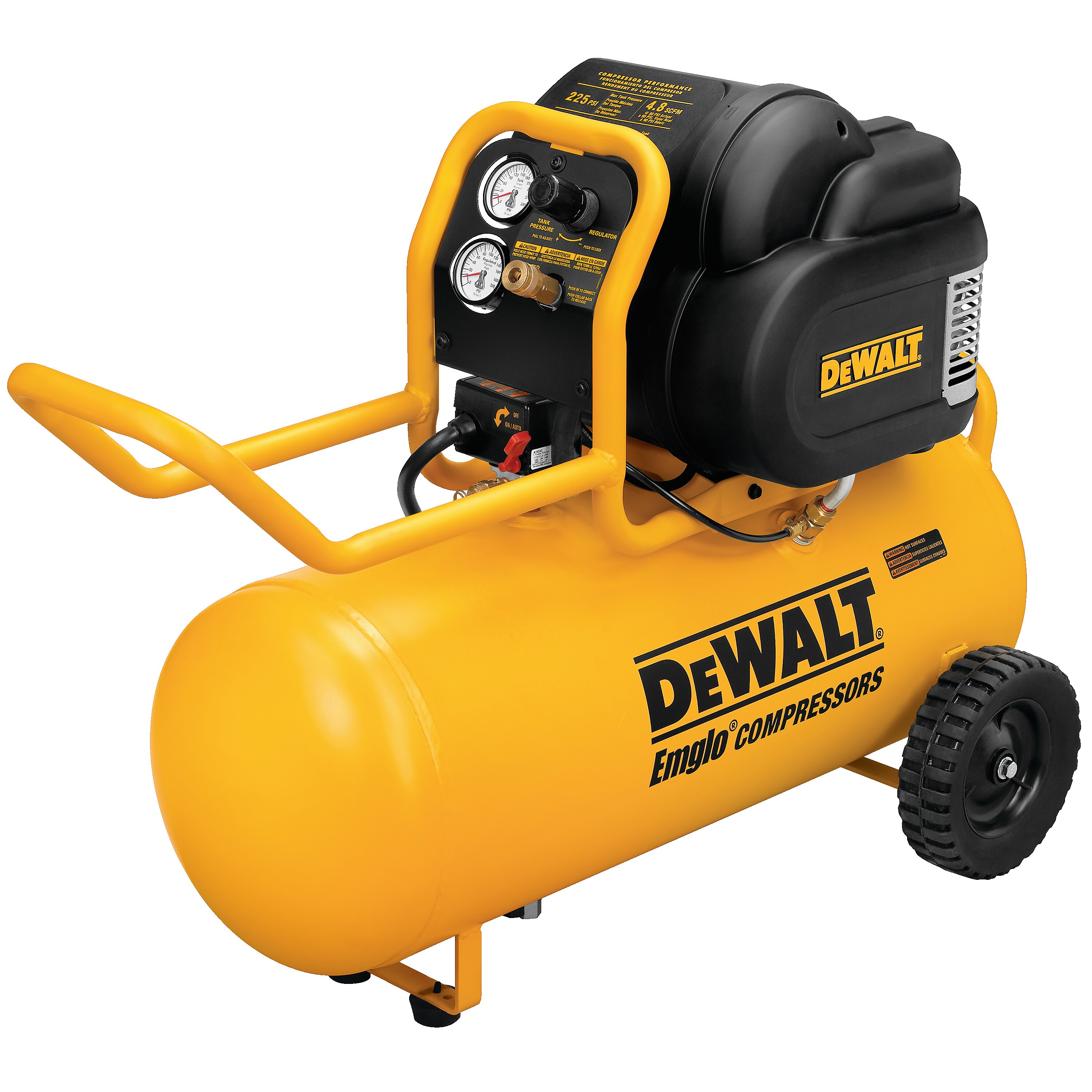 DEWALT - 16 HP Continuous 200 PSI 15 Gallon Workshop Compressor - D55167